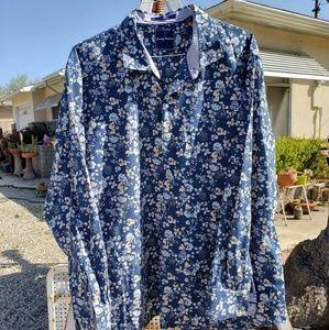 Tommy Bahama long sleeve floral shirt